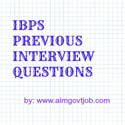 IBPS Clerk Exam Previous question Papers with answers
